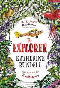 Book Cover for The Explorer by Katherine Rundell