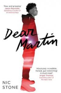 Book Cover for Dear Martin by Nic Stone