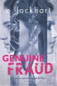 Book Cover for Genuine Fraud by E. Lockhart
