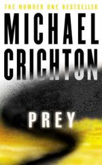 Cover for Prey by Michael Crichton