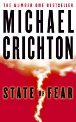 Cover for State of Fear by Michael Crichton