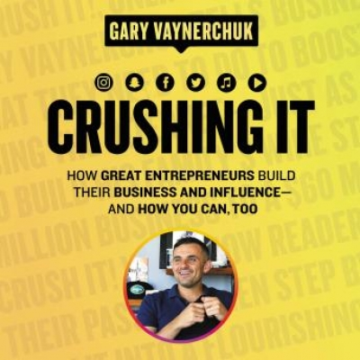 Cover for Crushing It! by Gary Vaynerchuk