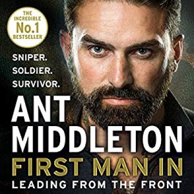 Cover for First Man In by Ant Middleton