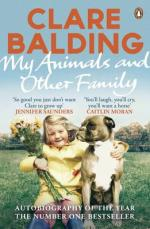 Cover for My Animals and Other Family by Clare Balding