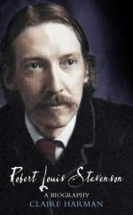 Cover for Robert Louis Stevenson: A Biography by Claire Harman