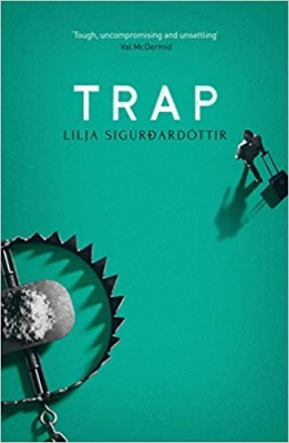 Cover for Trap by Lilja Sigurdardottir