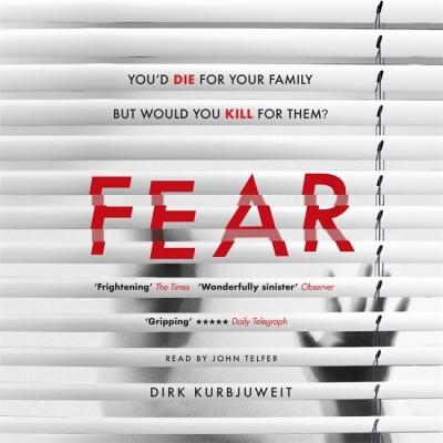 Cover for Fear  by Dirk Kurbjuweit