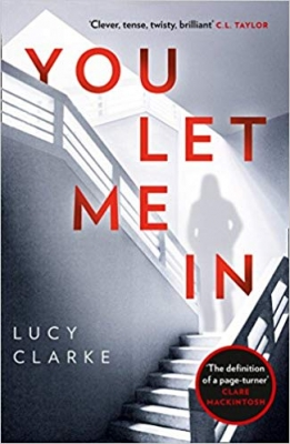 Cover for You Let Me In by Lucy Clarke