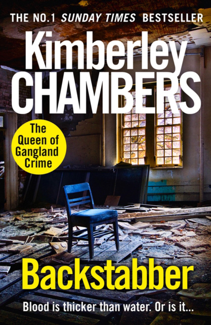Cover for Backstabber by Kimberley Chambers