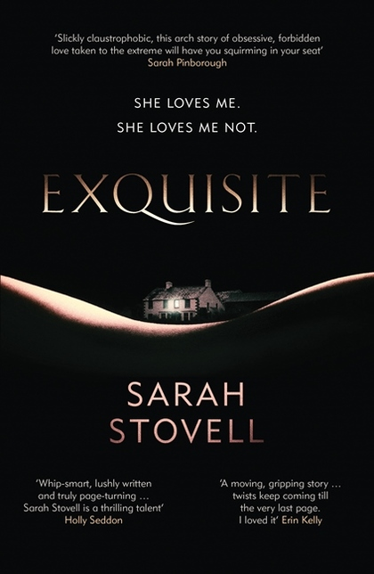 Cover for Exquisite by Sarah Stovell