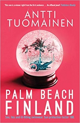 Cover for Palm Beach, Finland by Antti Tuomainen