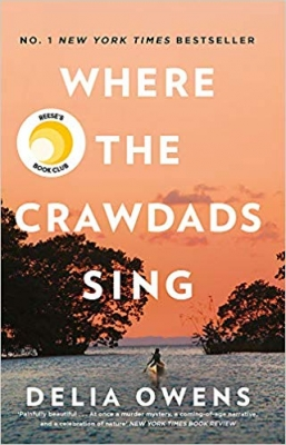 Cover for Where the Crawdads Sing by Delia Owens