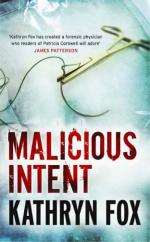 Cover for Malicious Intent by Kathryn Fox