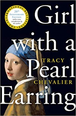 Cover for Girl with a Pearl Earring by Tracy Chevalier