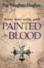 Cover for Painted in Blood by Pip Vaughan-hughes