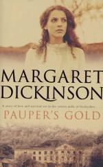 Cover for Pauper's Gold by Margaret Dickinson