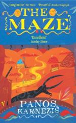 Cover for The Maze by Panos Karnezis