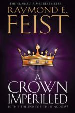 Cover for A Crown Imperilled by Raymond E. Feist