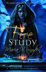 Cover for Fire Study by Maria V Snyder