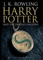 Cover for Harry Potter and the Deathly Hallows by J.K. Rowling