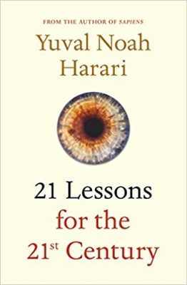 Cover for 21 Lessons for the 21st Century by Yuval Noah Harari