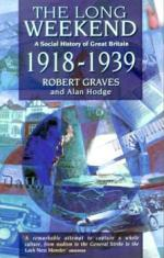 The Long Weekend: A Social History of Great Britain - 1918-1939 by Robert Graves