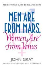 Cover for Men are from Mars, Women are from Venus by John Gray