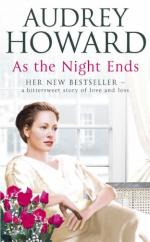 Cover for As The Night Ends by Audrey Howard