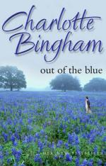 Cover for Out of the Blue by Charlotte Bingham