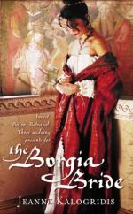 Cover for The Borgia Bride by Jeanne Kalogridis