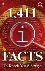 Cover for 1,411 QI Facts to Knock You Sideways by John Lloyd, John Mitchinson