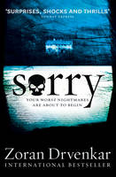 Cover for Sorry by Zoran Drvenkar