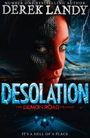 Cover for Desolation by Derek Landy