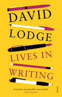 Cover for Lives in Writing by David Lodge