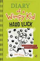Cover for Diary of a Wimpy Kid: Hard Luck by Jeff Kinney