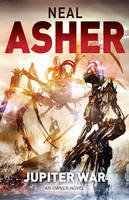 Cover for Jupiter War An Owner Novel by Neal Asher