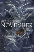 Cover for November by Sean O'brien