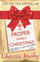 Cover for A Proper Family Christmas by Chrissie Manby