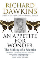 Cover for An Appetite for Wonder: The Making of a Scientist by Richard Dawkins