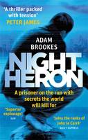Cover for Night Heron by Adam Brookes