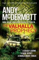 Cover for Valhalla Prophecy by Andy Mcdermott