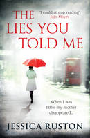 Cover for The Lies You Told Me by Jessica Ruston