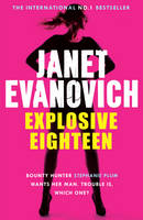 Cover for Explosive Eighteen by Janet Evanovich