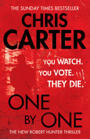 Cover for One by One by Chris Carter