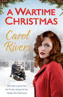 Cover for A Wartime Christmas by Carol Rivers