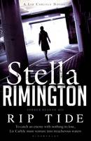 Cover for Rip Tide A Liz Carlyle Novel by Stella Rimington
