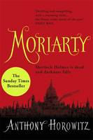 Cover for Moriarty by Anthony Horowitz
