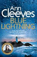 Cover for Blue Lightning by Ann Cleeves