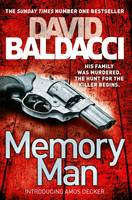 Cover for Memory Man by David Baldacci