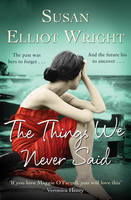 Cover for The Things We Never Said by Susan Elliot-Wright